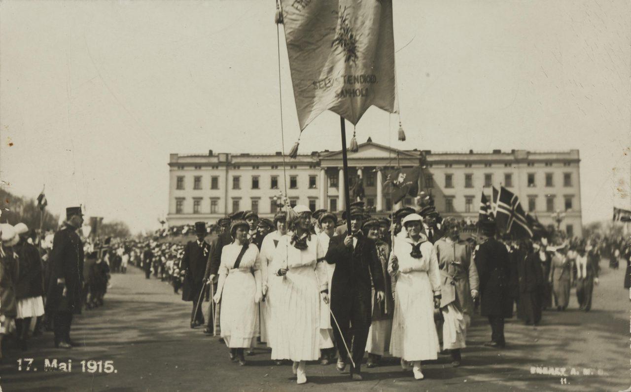 17. mai 1915 i Kristiania.