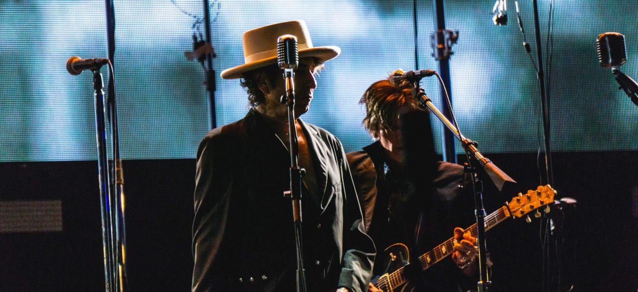 Bob Dylan på scenen