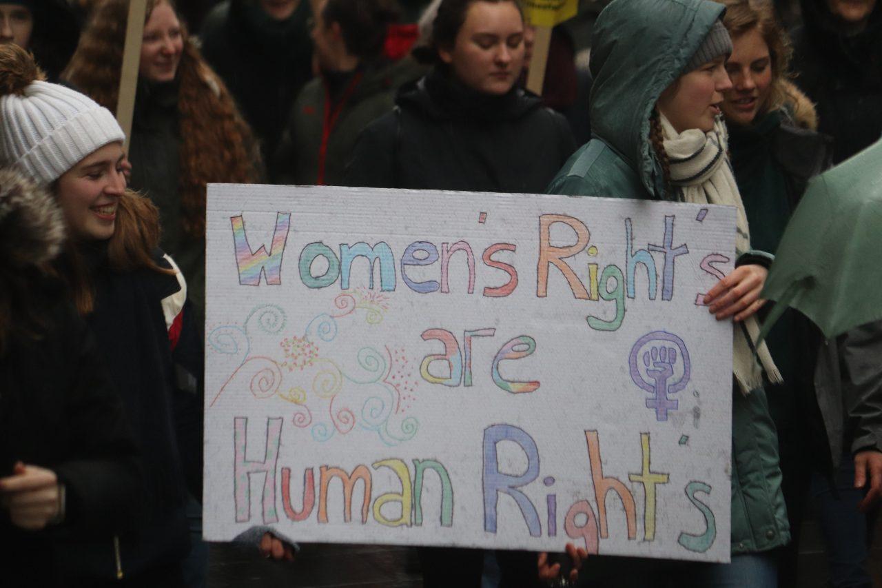 Kvinnedagen markering