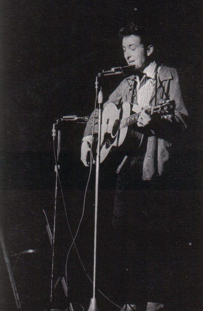 Bob Dylan i årboken til St. Lawrence College, 1964