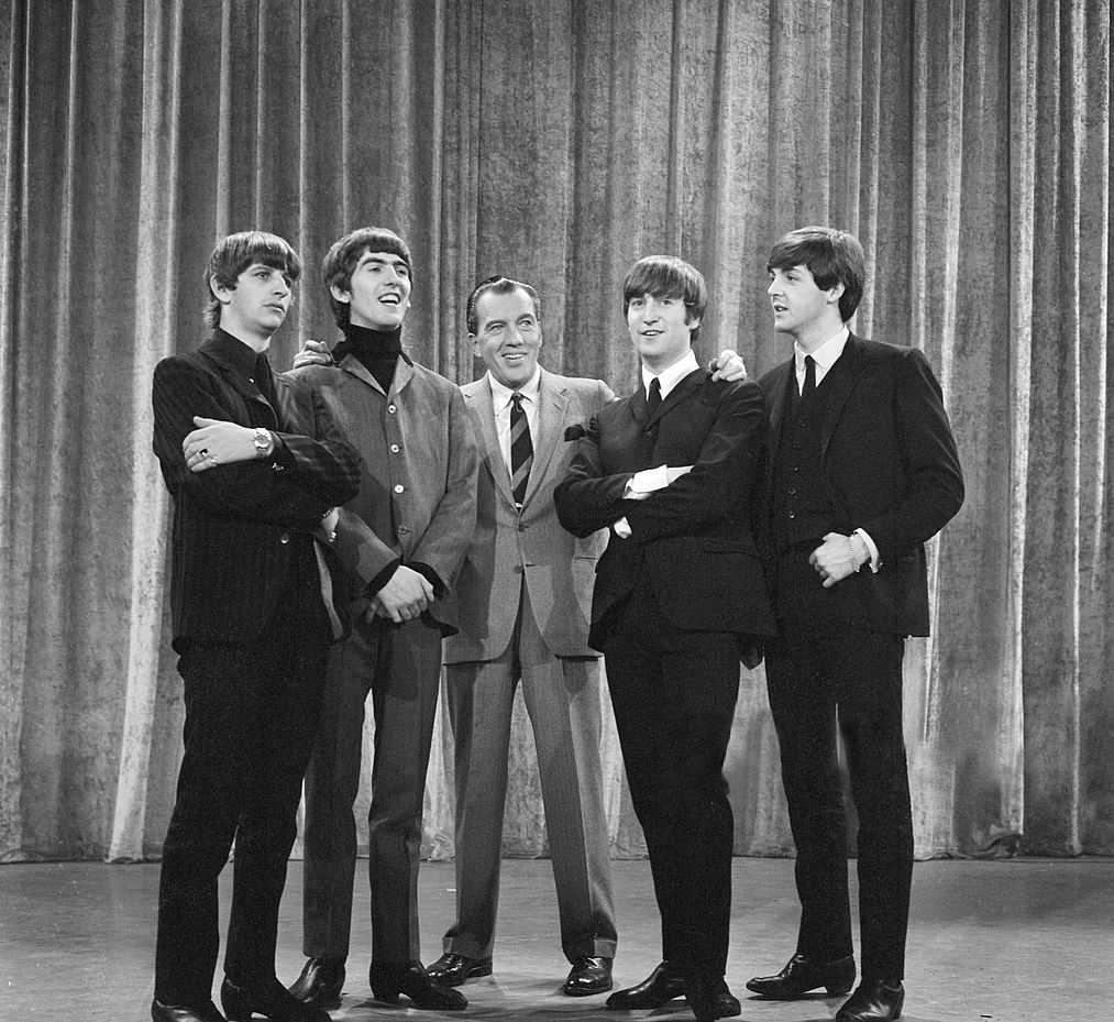 The Beatles med Ed Sullivan, 1964