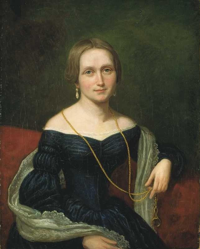 Portrett av Camilla Collett i 1893