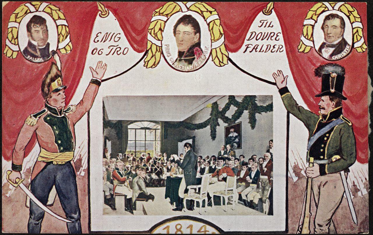 Postkort til grunnlovsjubileet
