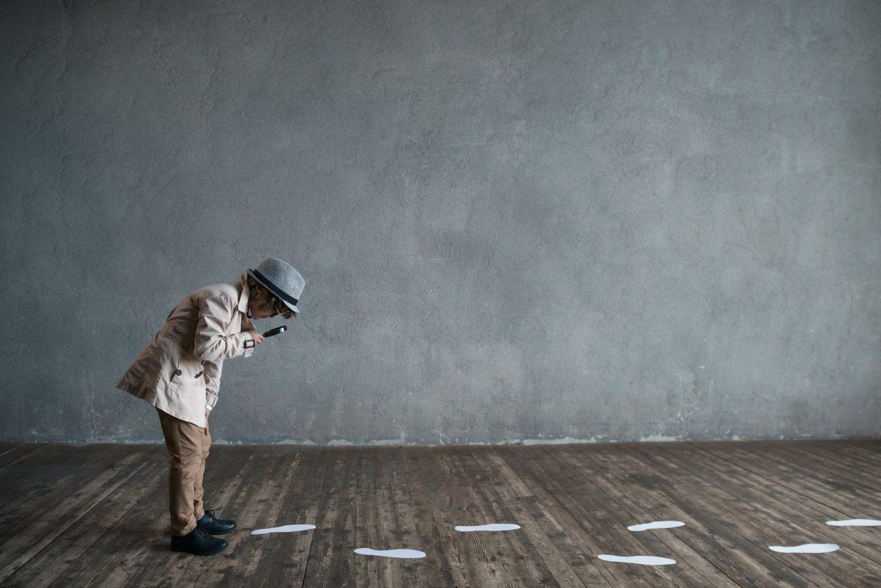 Et barn som detektiv