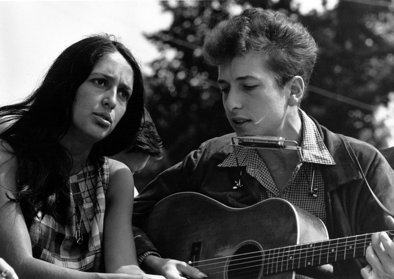Bob Dylan og Joan Baez i 1963