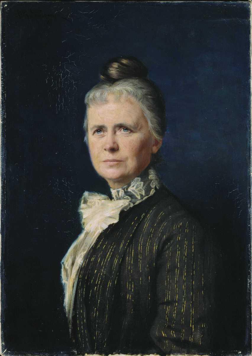 Portrett av Ragna Nielsen