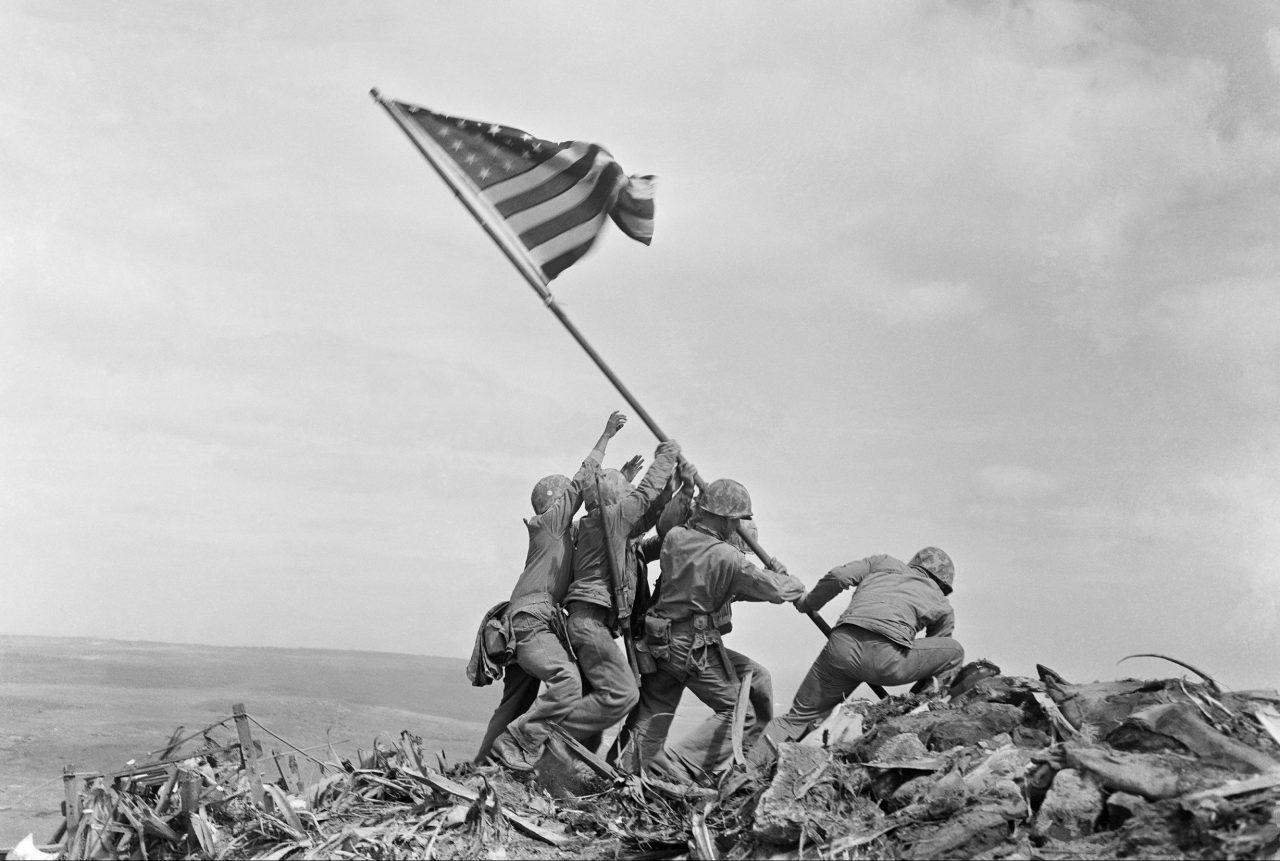 Heising av flagget i Iwo Jima, 1945