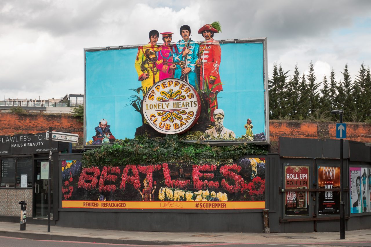 Sgt. Pepper's 50 års jubileum i London