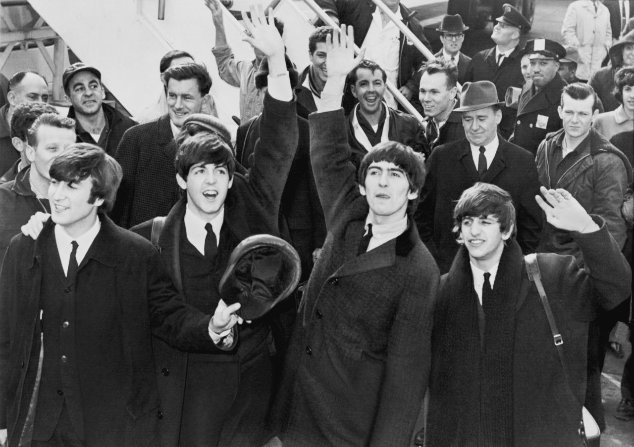 The Beatles ankommer USA, Kennedy Airport 1964