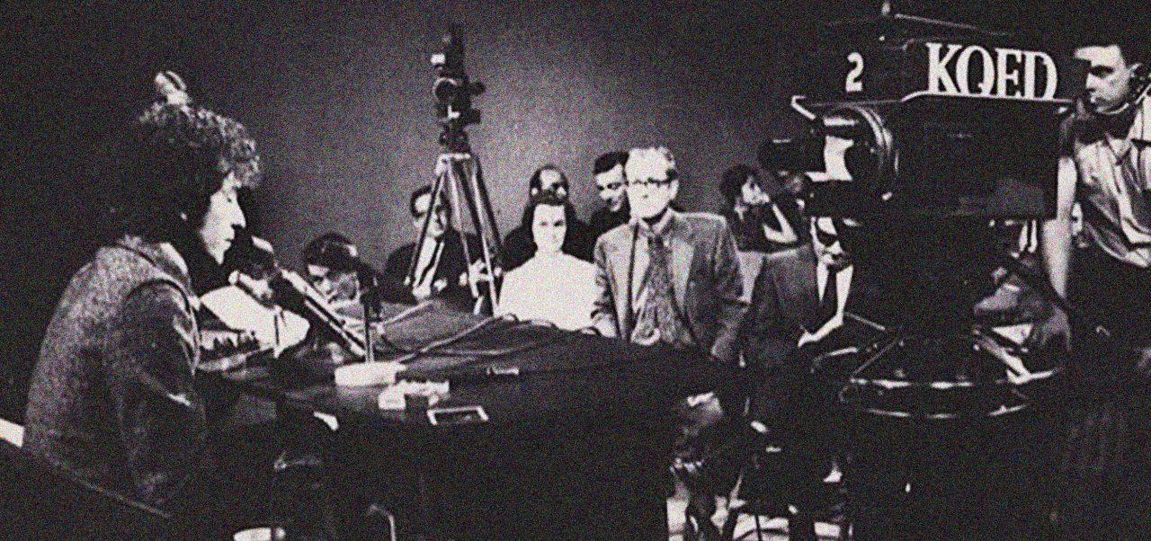 Bob Dylan møter pressen i 1965