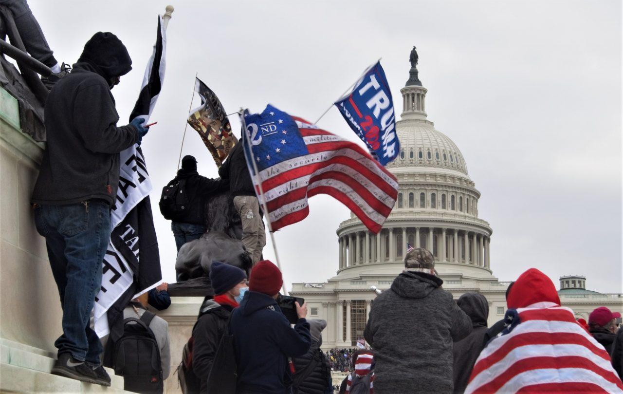 Stormingen av kongressen i USA