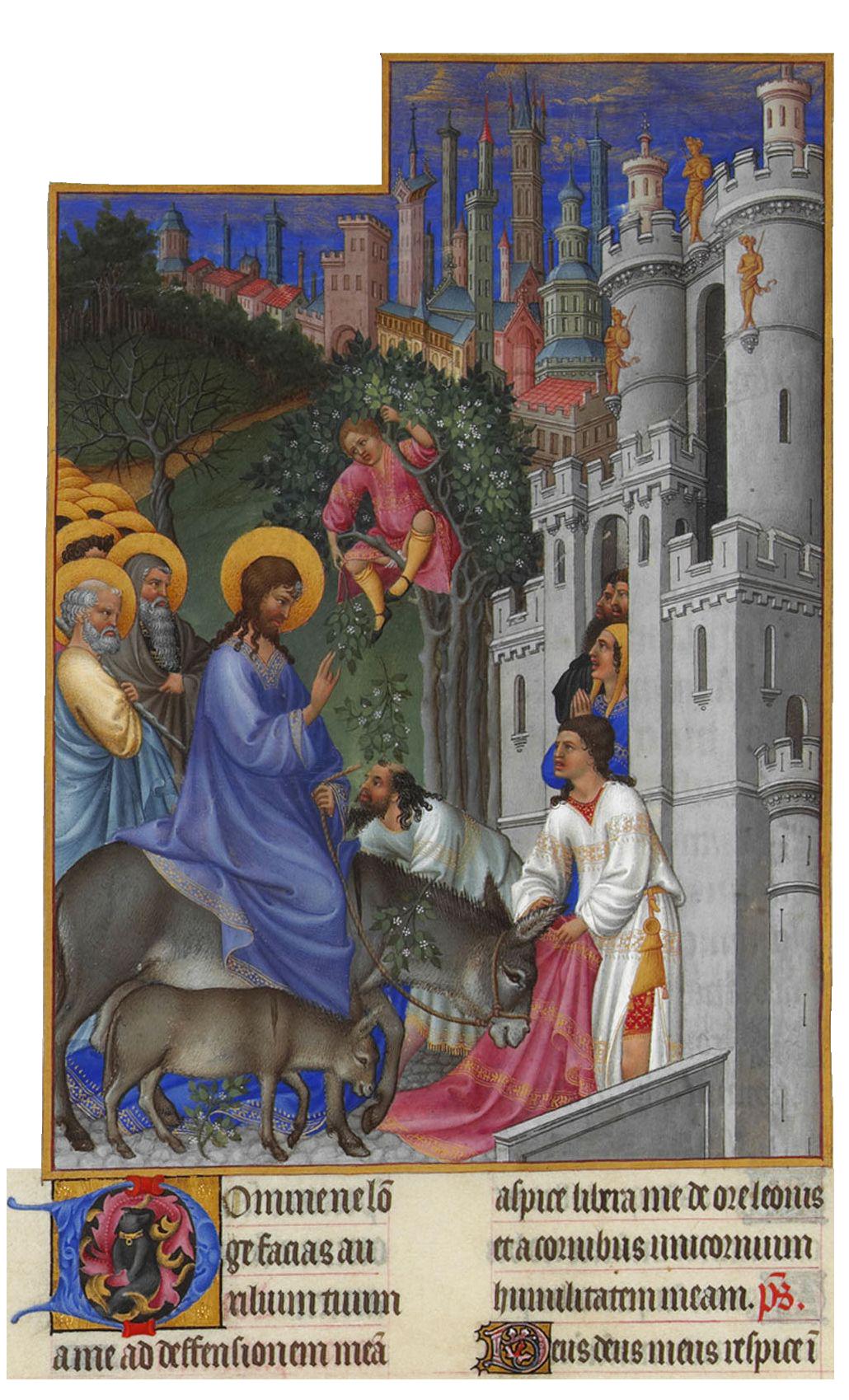Jesus inntog i Jerusalem