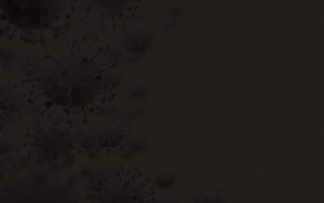 Mørk virusbakgrunn