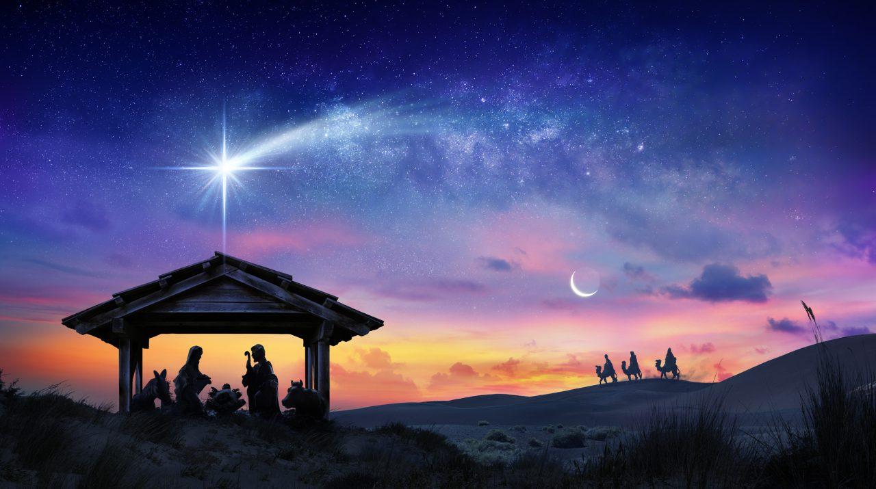 Stallen, krybben og Jesus