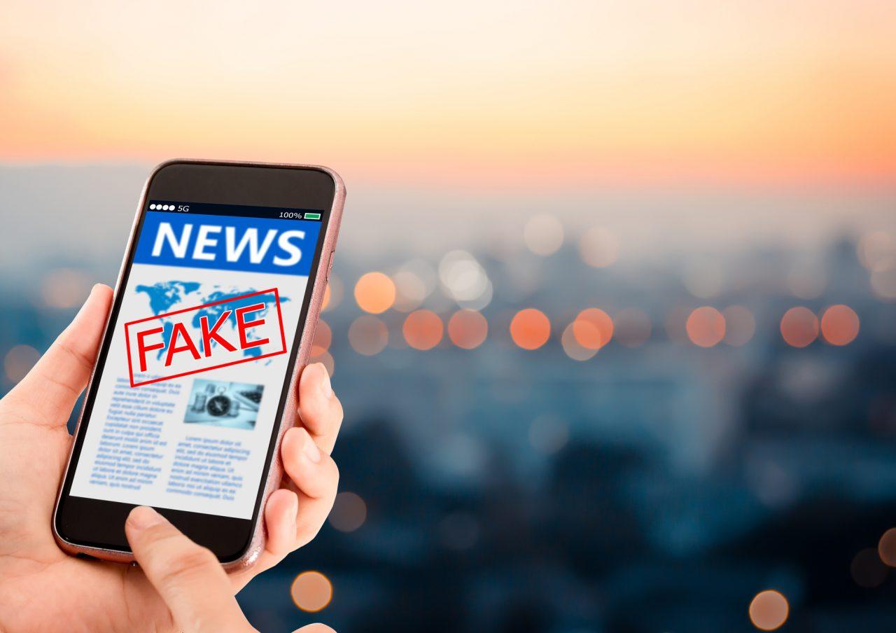 Mobil med Fake News