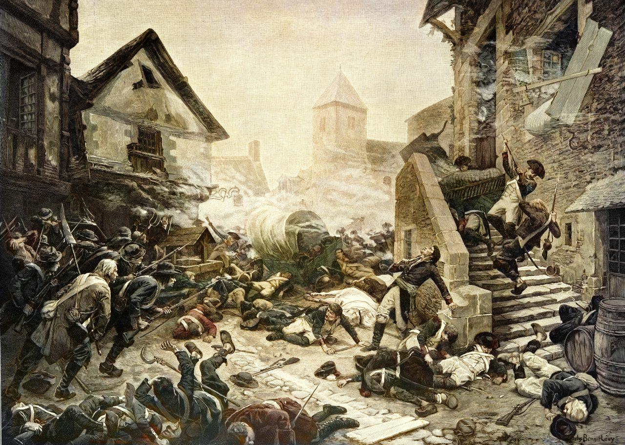 Kampene under den Franske revolusjonen
