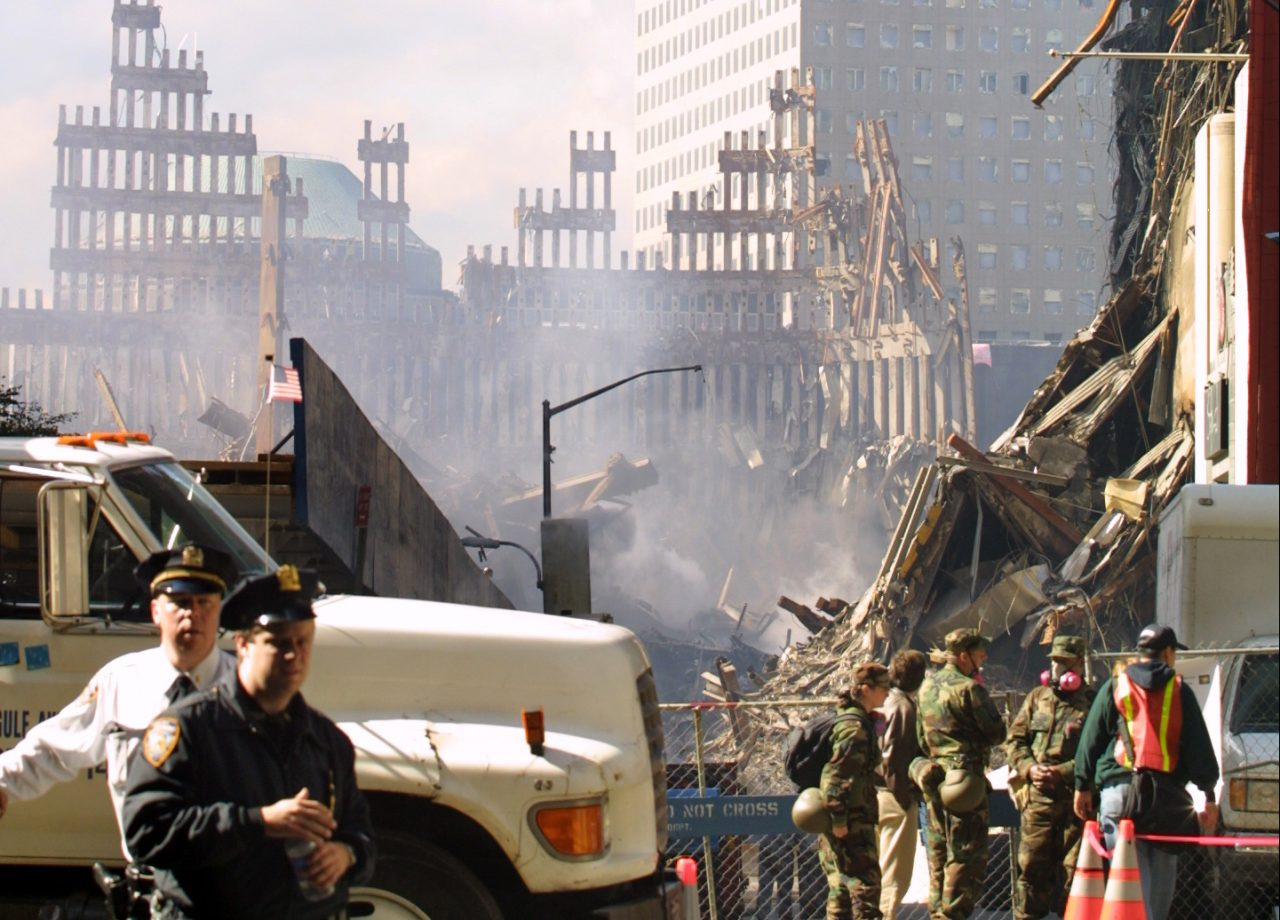 Terrorangrepet på World Trade Center i New York 9/11