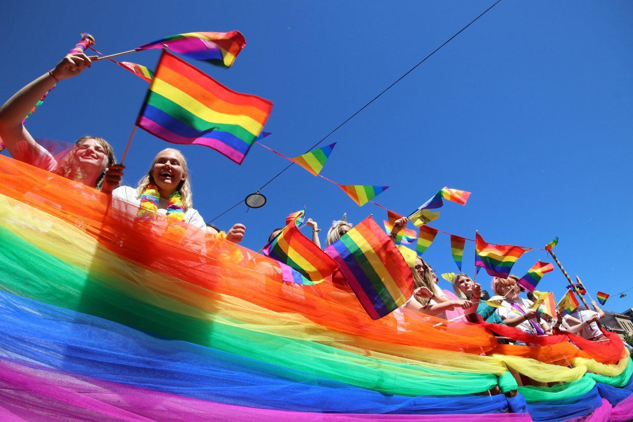 Pride-paraden i Oslo i 2018