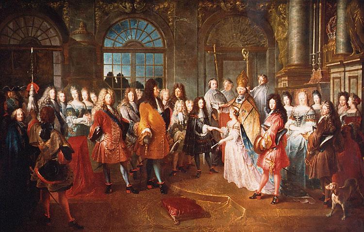 Arrangert ekteskap i 1697