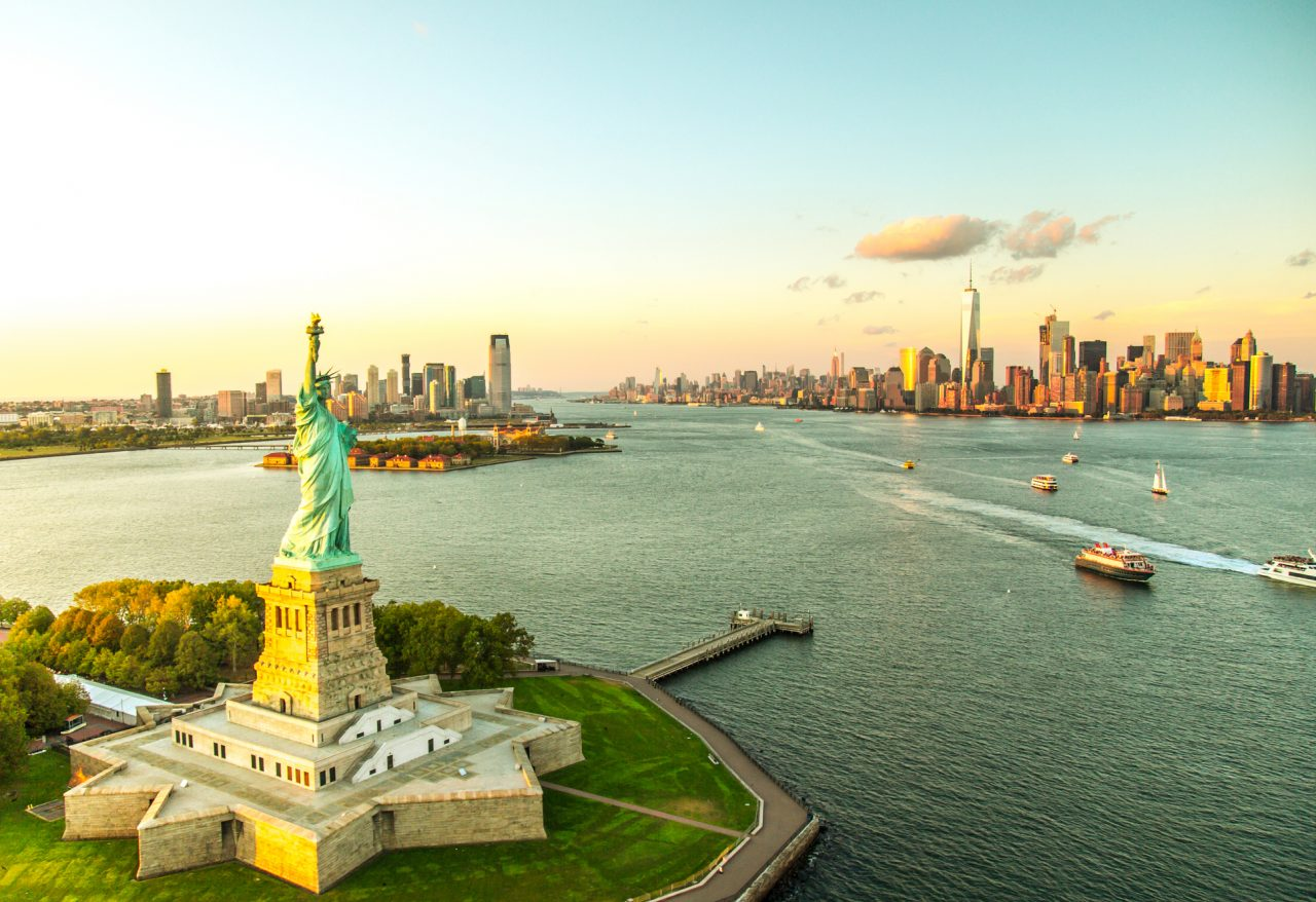 Frihetsstatuen New York