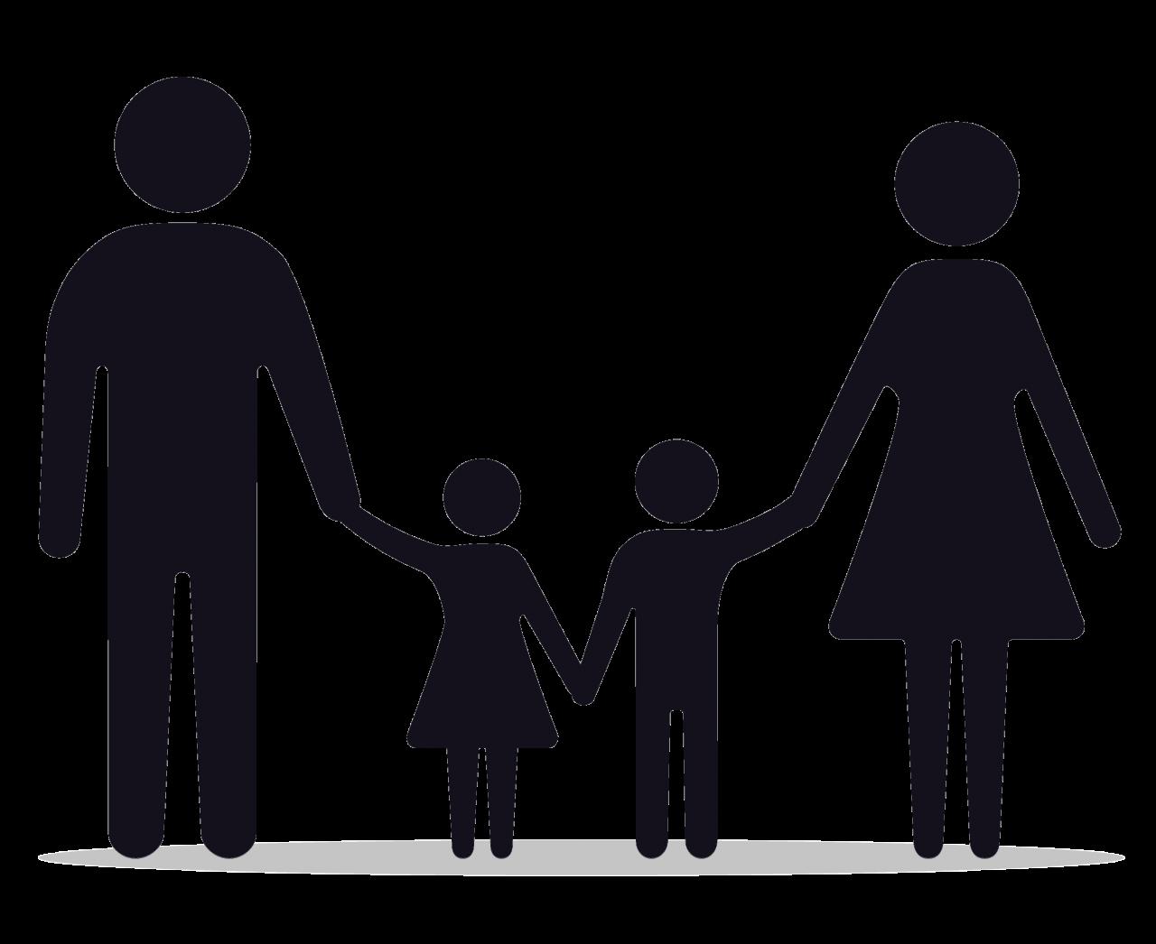 Illustrert familie