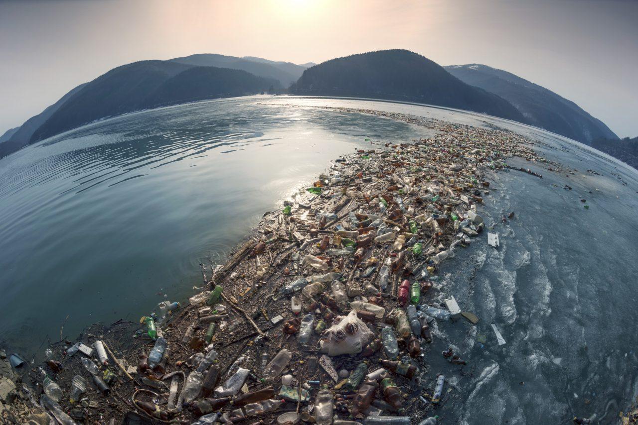 Søppel i havet