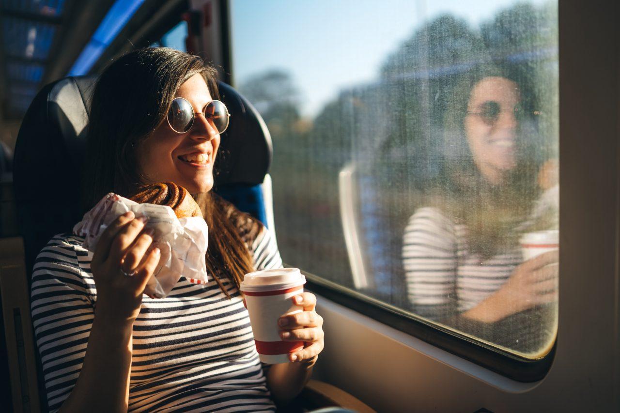 Kaffe på tog