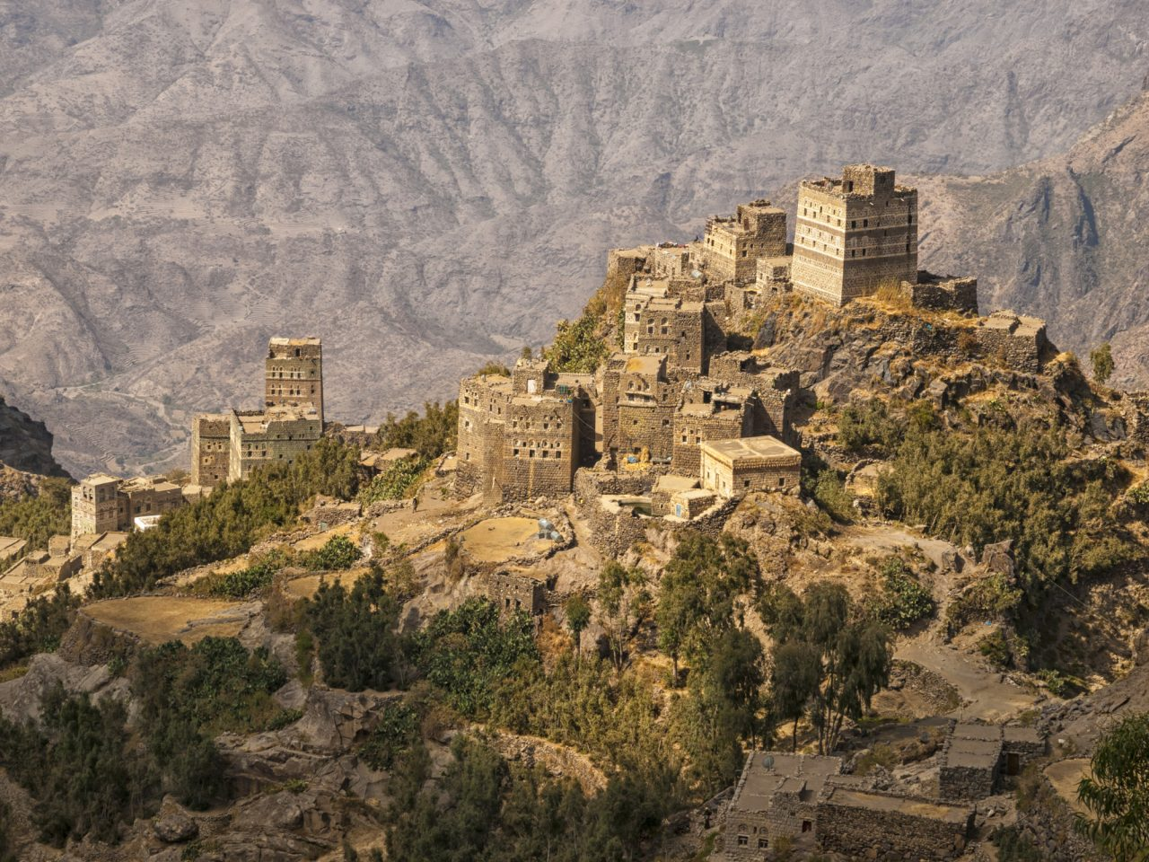Sufi kloster i Yemen