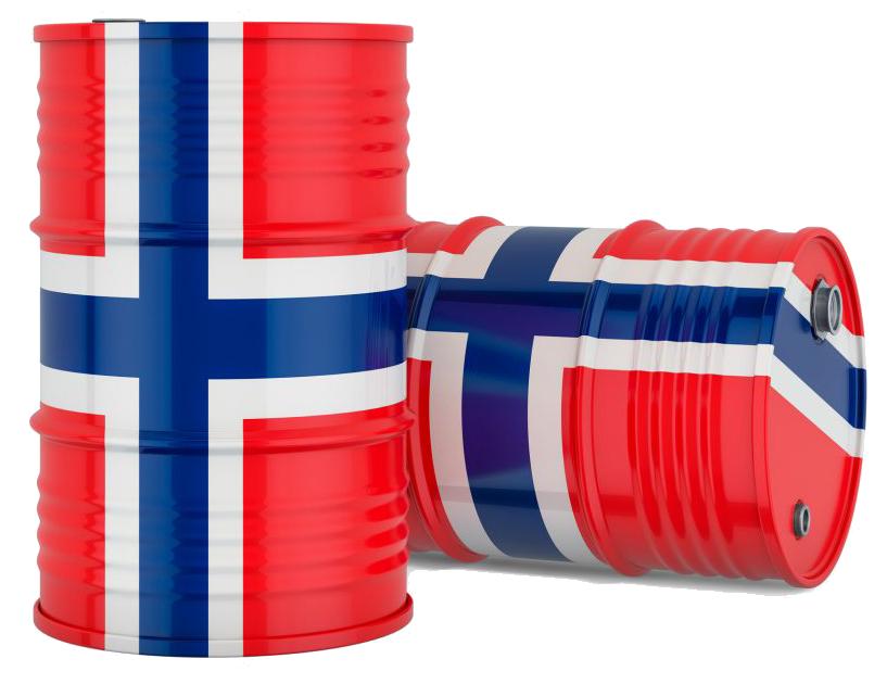 Norske oljetønner