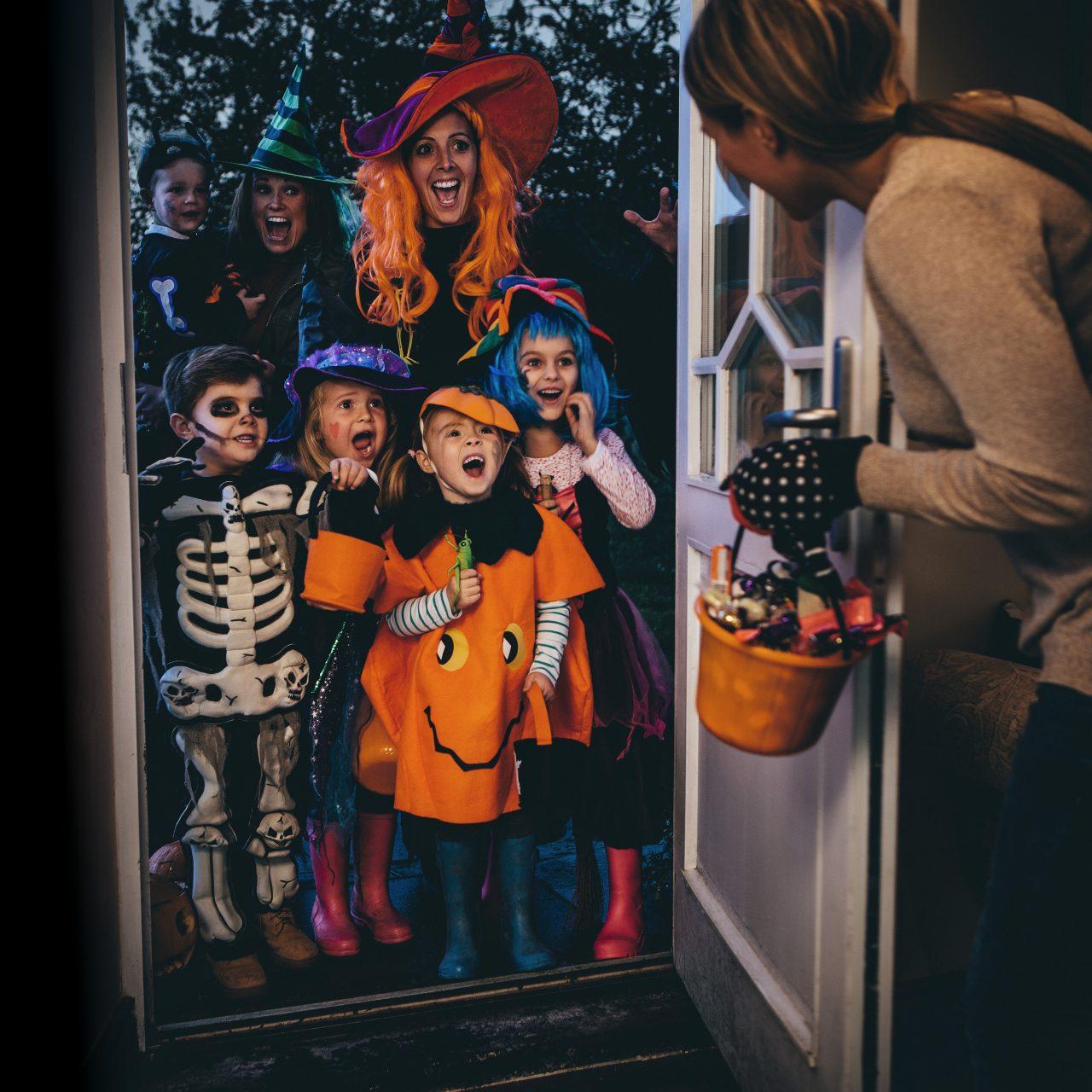 Knask eller knep på Halloween